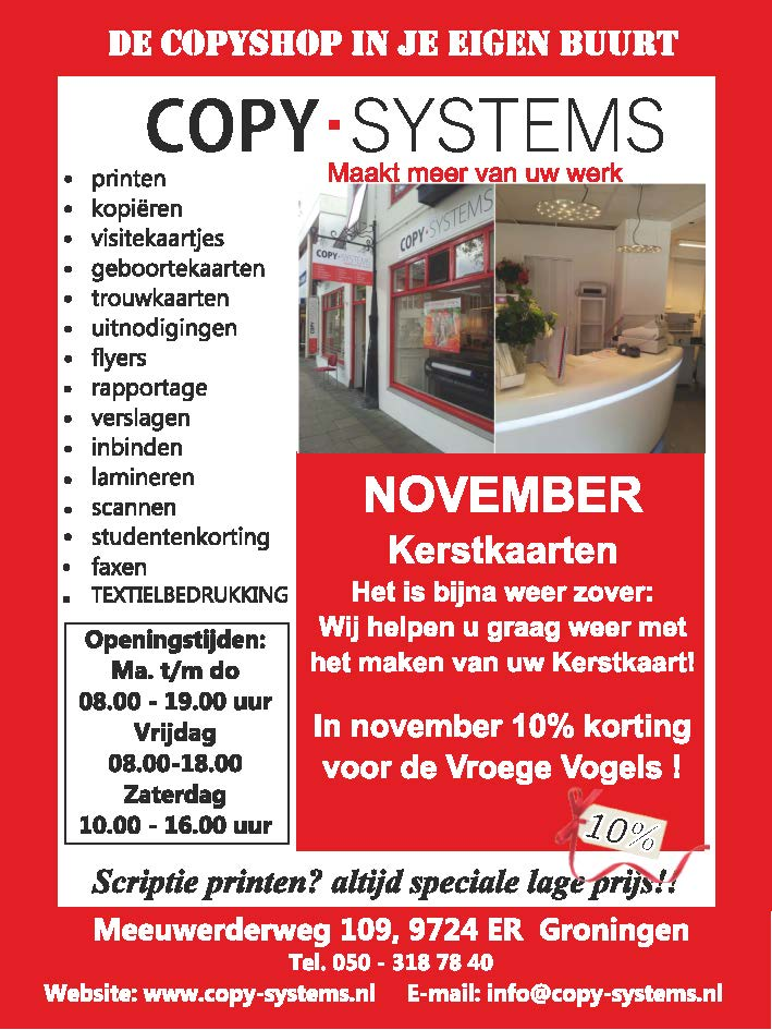 advertentie De Oosterpoorter november 2018